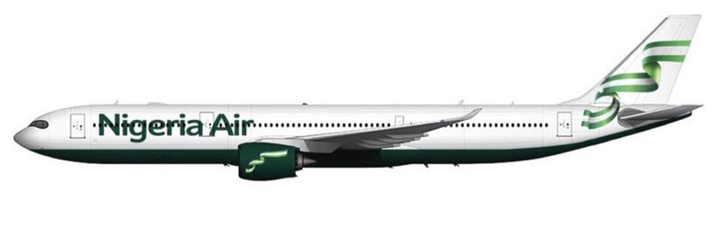 FG unveils logo, name for new national carrier, Nigeria Air, targets 81 routes