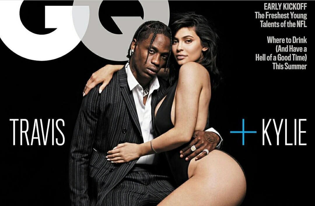 Kylie Jenner and Travis Scott give off couple vibes on GQ cover