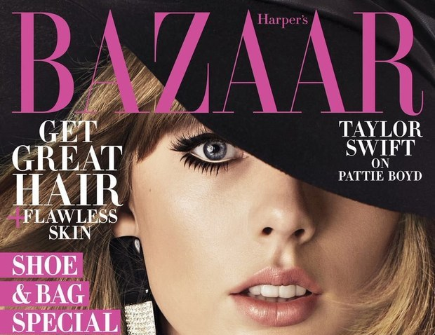 Taylor Swift channels 60s icon, Pattie Boyd for Harper's Bazaar US