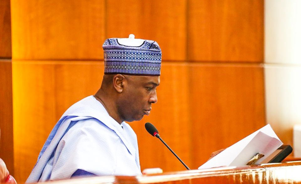 """Only two-thirds majority can remove me from office"" – Saraki"