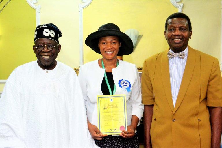 Senator Oluremi Tinubu becomes RCCG pastor