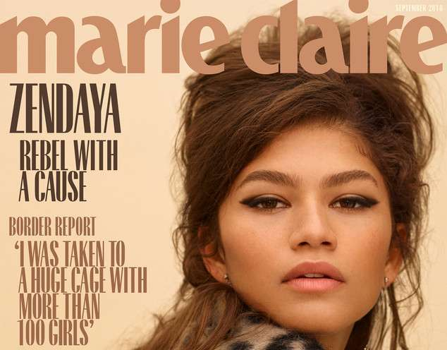 Zendaya talks Disney, breaking racial barriers in the entertainment industry for Marie Claire
