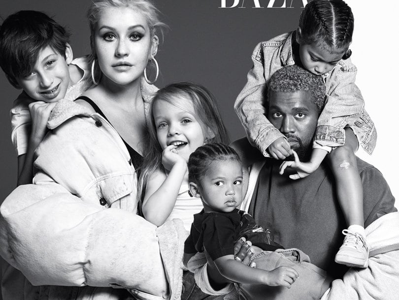 Music legends pose with their kids for Harper's Bazaar icons spread