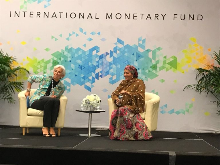 """""""Okonjo-Iweala helped get Nigeria out of debt, but we are back there,"""" says former minister, Amina Mohammed (video)"""