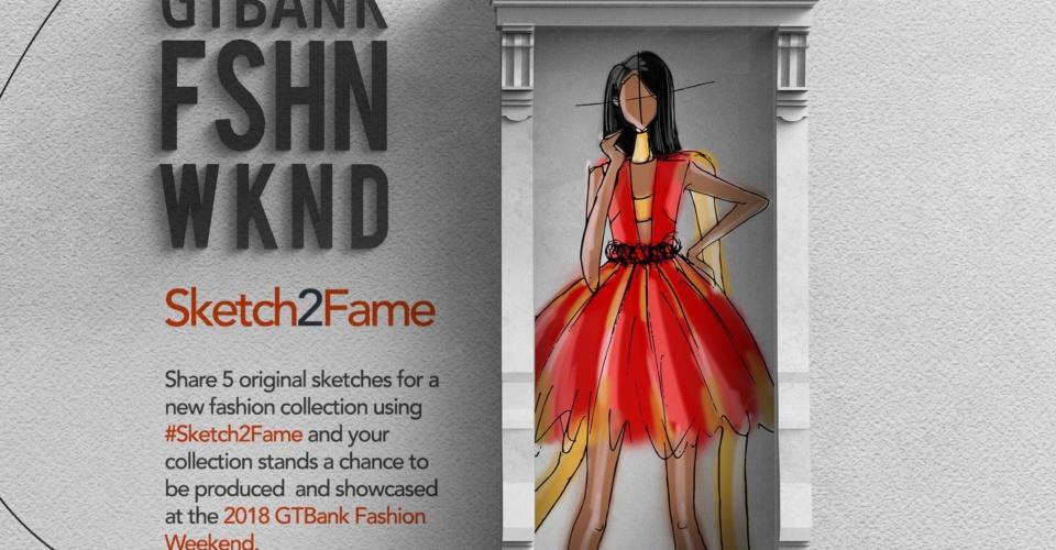 GT Bank unveils 'Sketch to Fame', a platform for aspiring African fashion designers