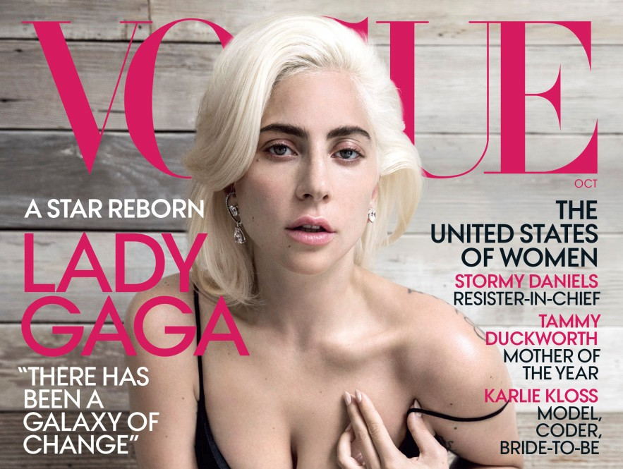 Lady Gaga is the cover star for Vogue, October edition