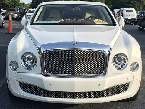 Linda Ikeji gifts herself and son, a Bentley as push present