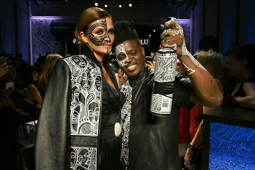 Laolu Sebanjo partners with Belvedere Vodka, designs their limited edition