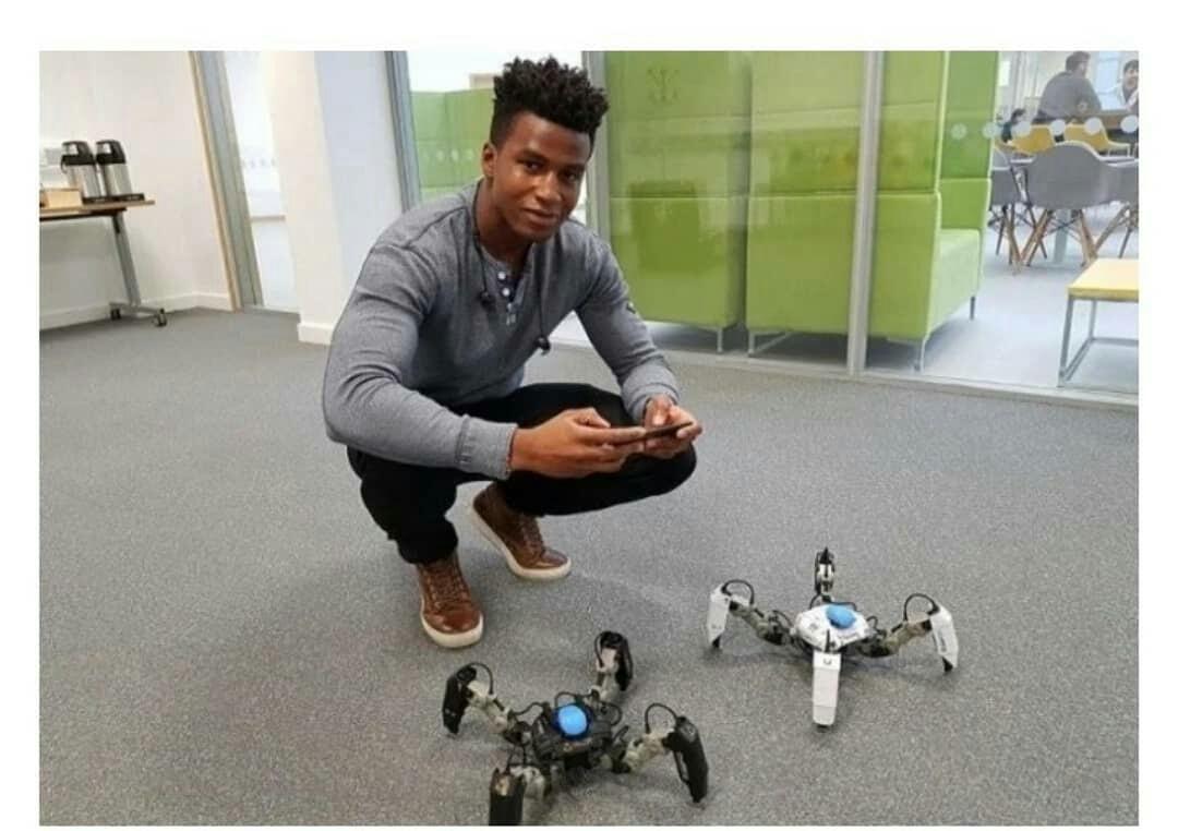 Nigerian, Adekunle Silas becomes world's highest paid robotics engineer