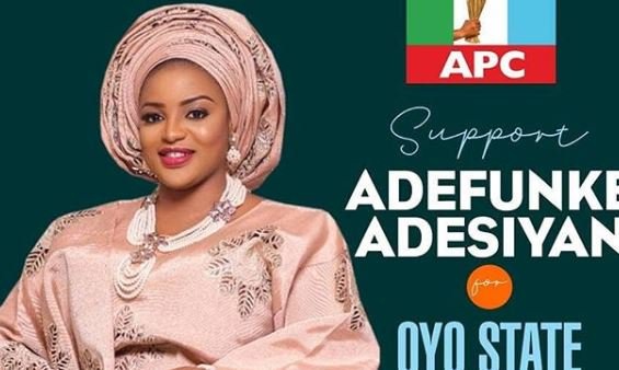 Actress, Funke Adesiyan loses mandate after winning at primary