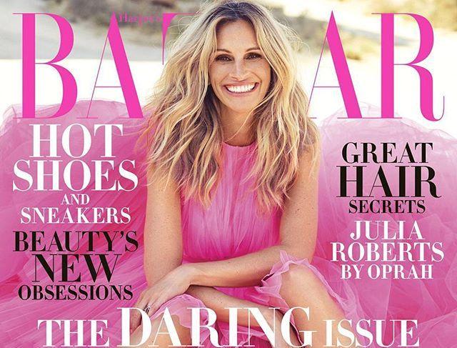 Oprah Winfrey interviews Julia Roberts for November edition of  Harper's Bazaar