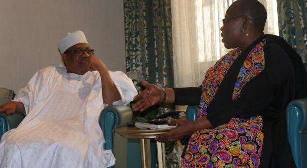 Oby Ezekwesili holds 'secret' meeting with IBB in Minna