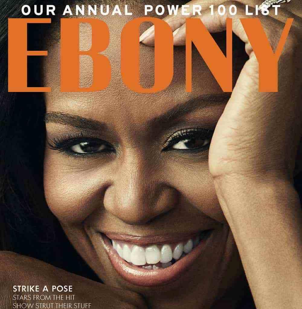 Michelle Obama covers Ebony magazine Power Issue