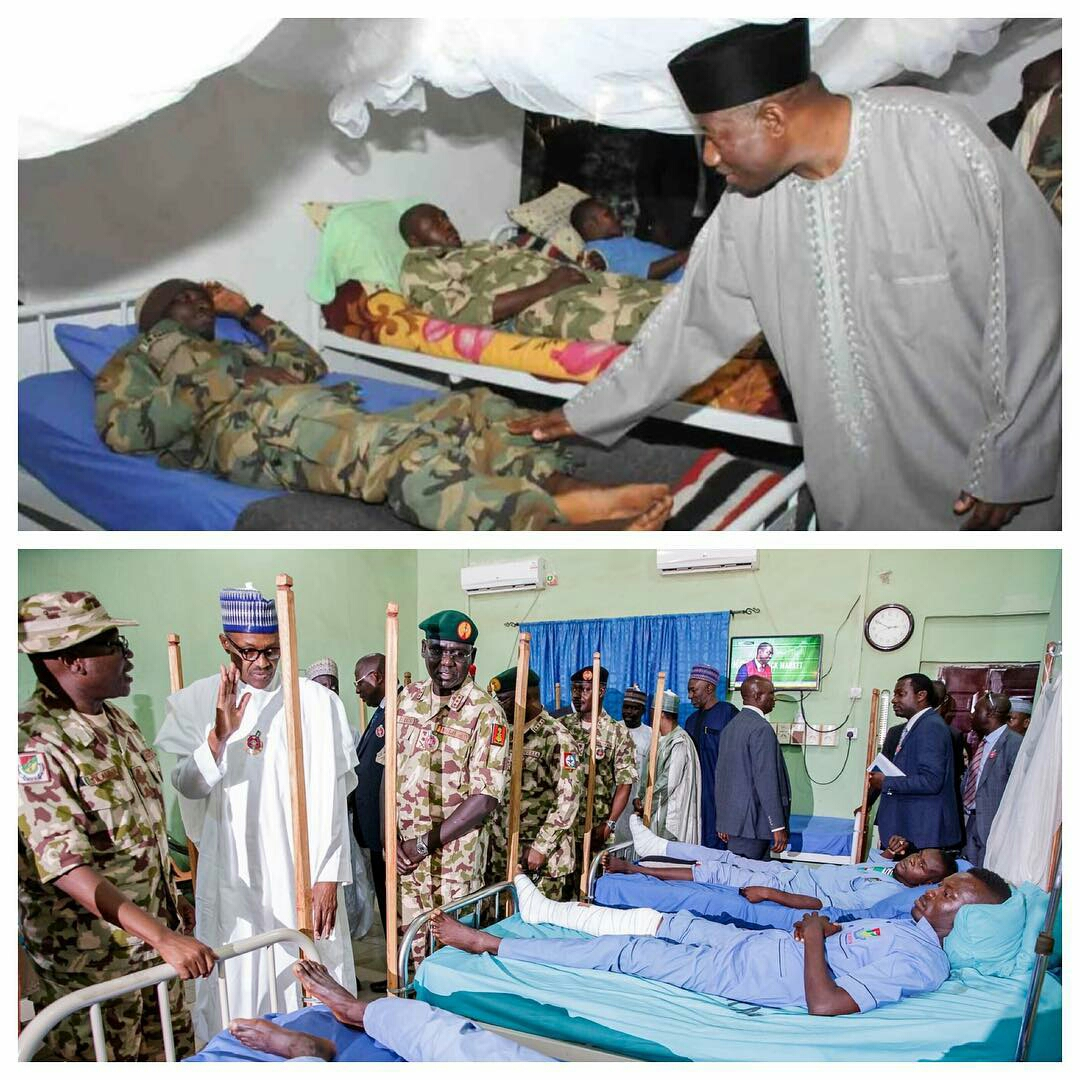 Compare and contrast: Between Buhari and Goodluck Jonathan