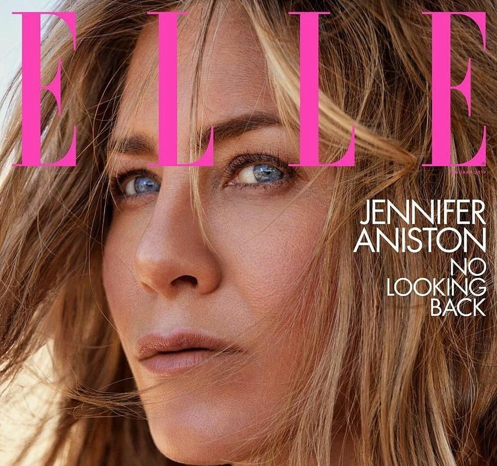Jennifer Aniston goes candid for ELLE magazine