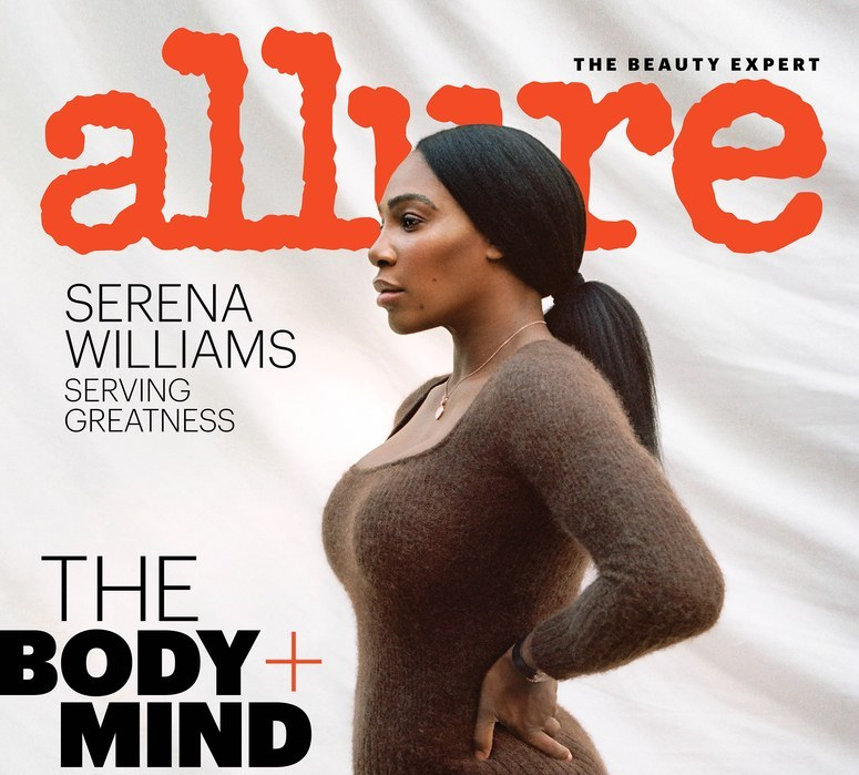 Serena Williams glows as she talks about her career in Allure