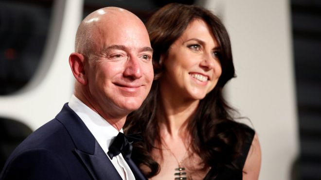 World richest man, Jeff Bezos' affair with Lauren Sanchez is reason he and wife are divorcing
