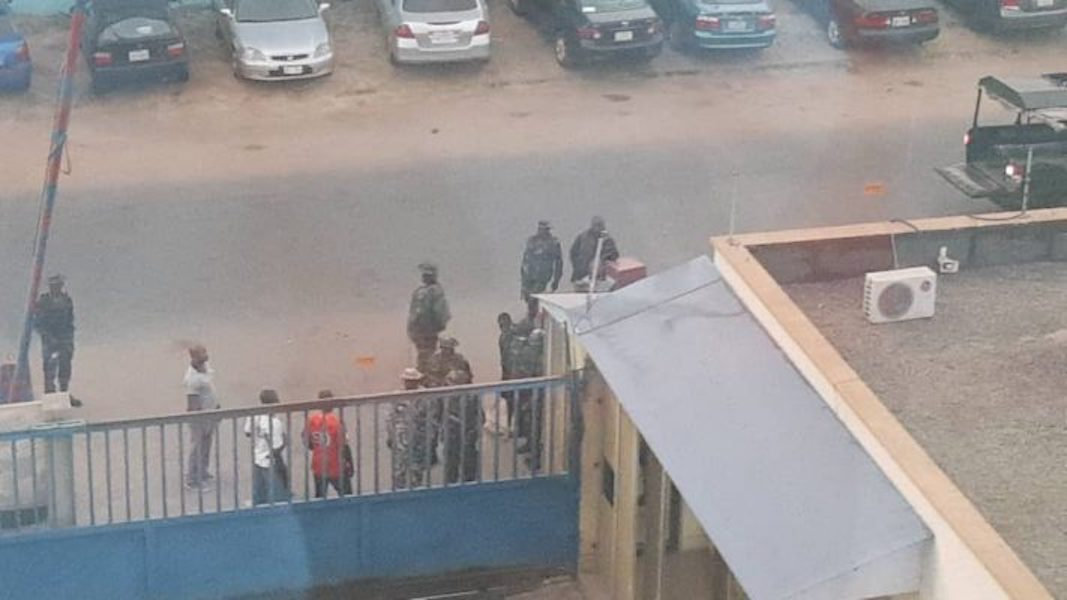Military gives reason for invading offices of Daily Trust