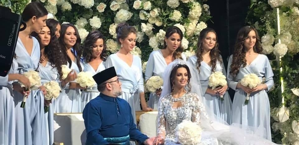 Love lives here! Malaysia's King Sultan Muhammad abdicates, marries Russian beauty queen