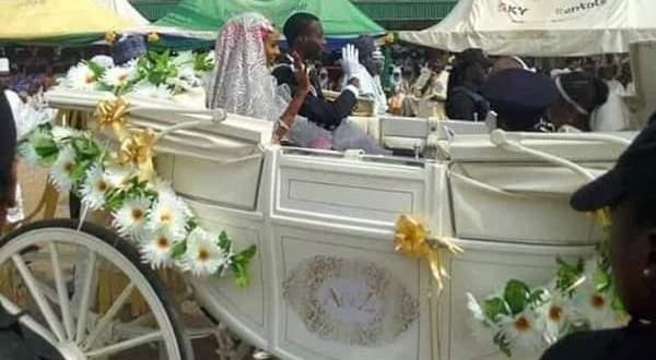 Emir of Kano throws lavish wedding for son, Aminu