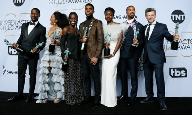 Black Panther nabs top prize at Screen Actors Guild Awards