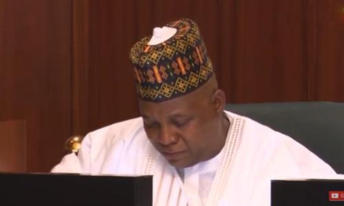 """We thought you'll end Boko Haram"" –  Shettima weeps to Buhari"