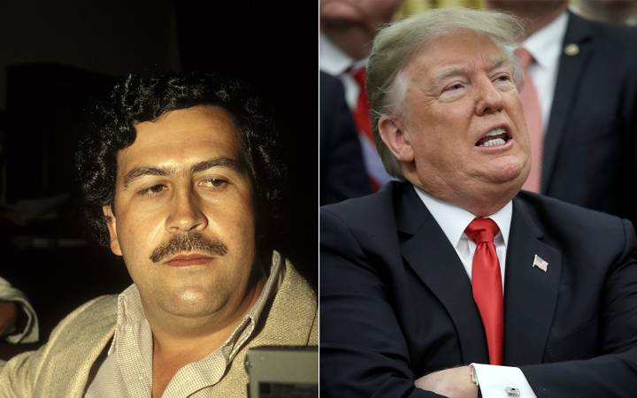 Escobar's brother, Robert launches $50M GoFundMe to impeach Trump