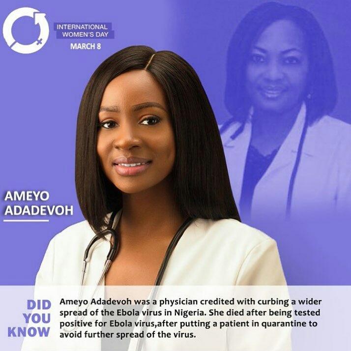IWD2019: Former BBNaija housemate, Antolecky, pays tribute to outstanding Nigerian women