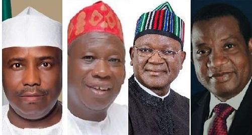 Ganduje, Tambuwal, Lalong and Ortom win second term