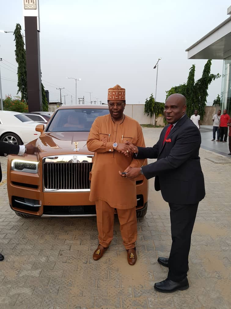 Bolu Akin-Olugbade becomes first African to own a Rolls Royce SUV