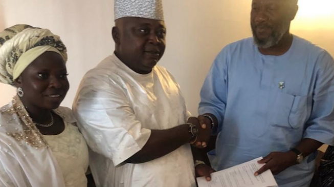 PDP's Adebutu endorses Akinlade, asks supporters to vote APM