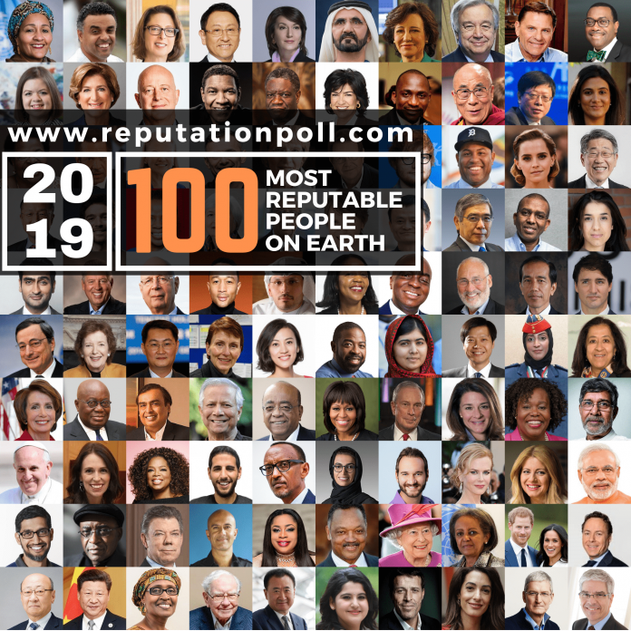 Oyedepo, Enenche, 3 other Nigerians make 2019 list of 100 Most Reputable People on Earth