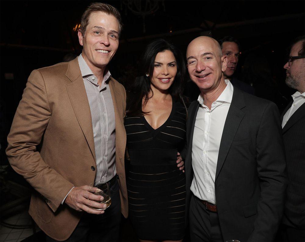 Lauren Sanchez files for divorce after Bezos' split with wife