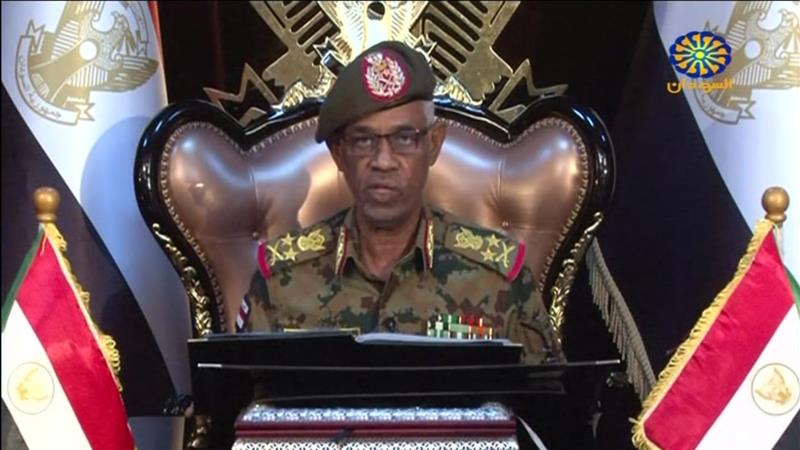 Sudan's head of military council, Ibn Auf steps down