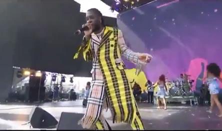 Vogue magazine claims Burna Boy is Nigeria's most stylish musician