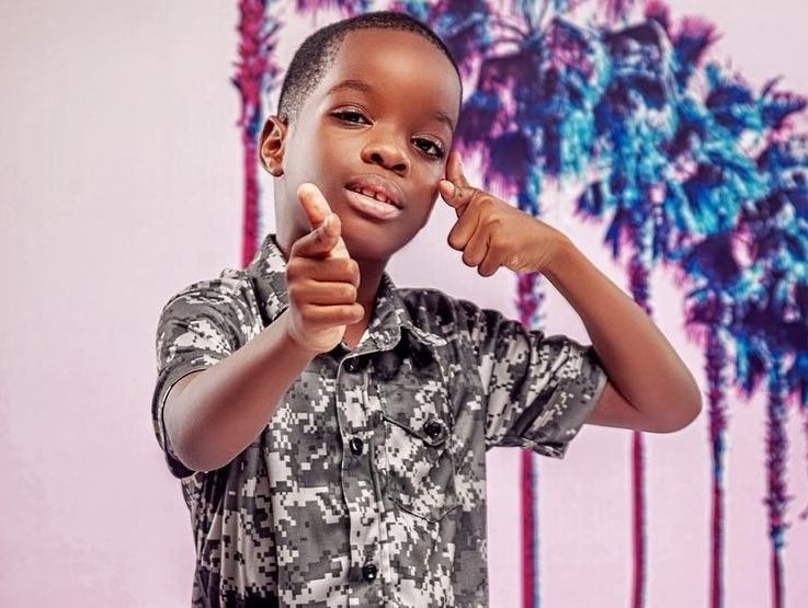 Wizkid's first son, Boluwatife floats clothing line