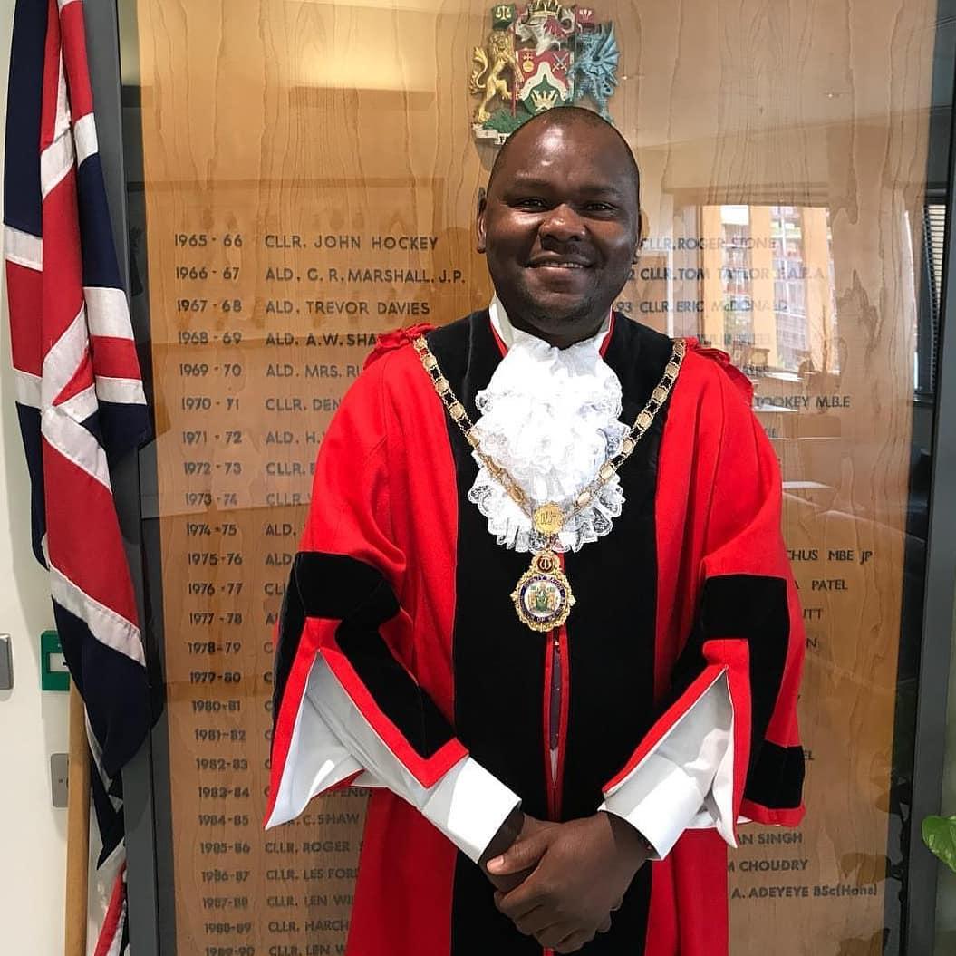 Unveiling Ernest Ezeajughi, Nigerian who became first black Mayor of London Bureau of Brent