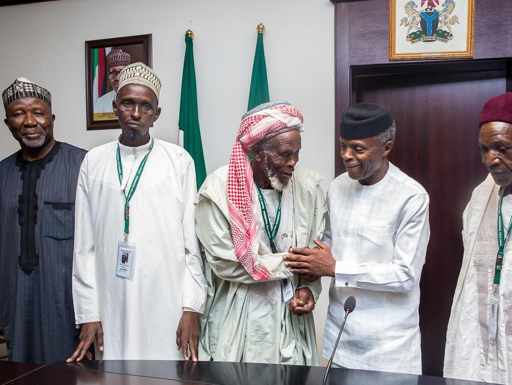 Osinbajo hails Muslim cleric who saved Christians from bandits