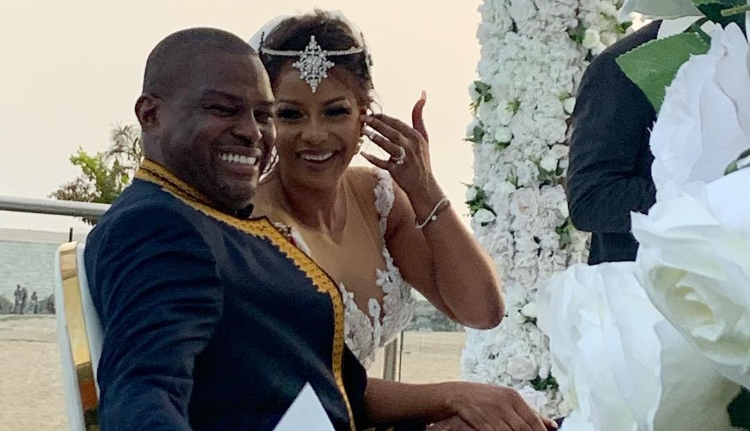 Sonnie Ayere, Uche Ajene tie the knot in classy ceremony