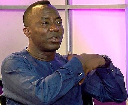 Former presidential aspirant, Omoyele Sowore suspended by party
