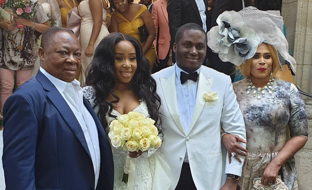 Socialite couple, Nkiru and William Anumudu's son, ties the knot