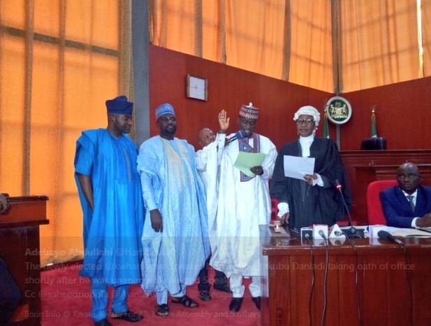 34-year-old Yakubu Danladi, elected speaker of Kwara assembly