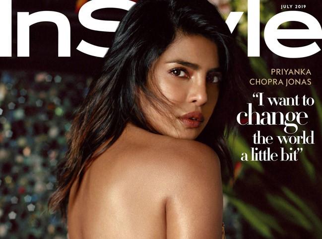 Priyanka Chopra talks career, married life to Instyle Magazine