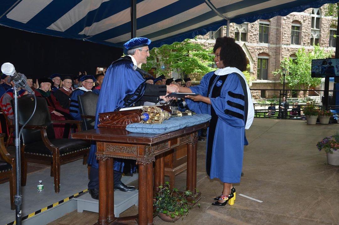 In addition to Duke, George, Yale honours Chimamandah Adichie