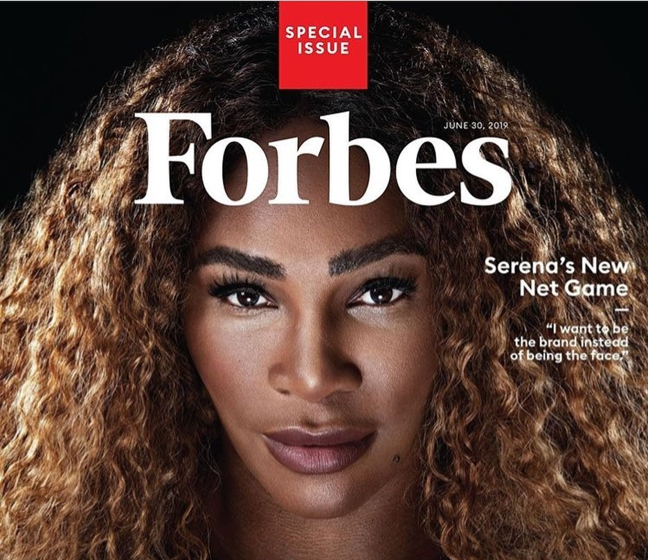 Serena Williams is first athlete on Forbes' 'Richest Self-Made Women list'
