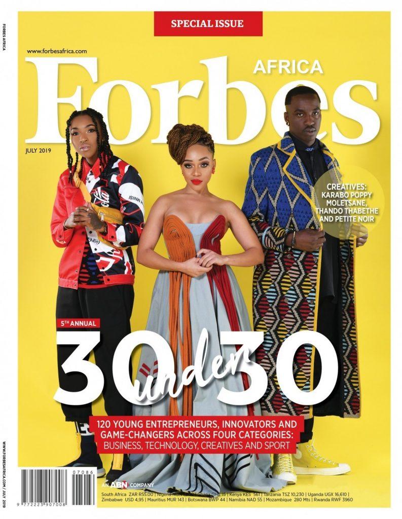 Burna Boy, Alex Iwobi make Forbes Africa '30 under 30′ + full list