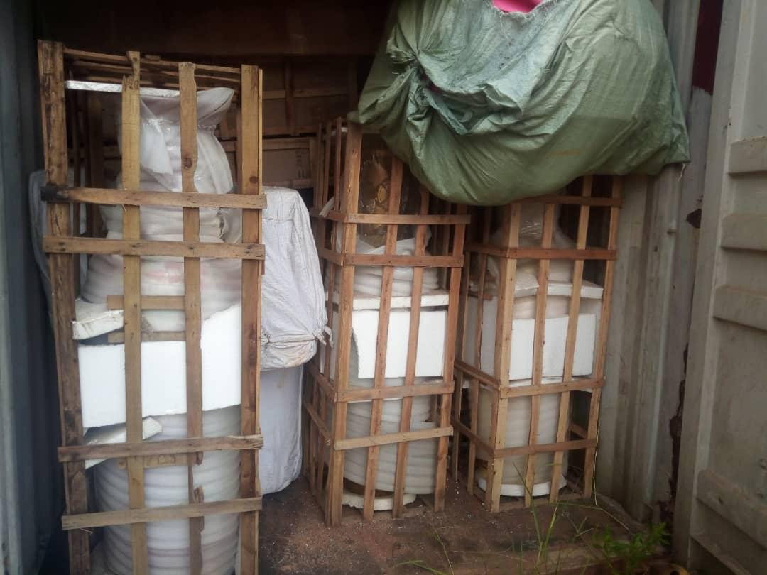 Warehouse where looted government property by Okorochas was kept, uncovered
