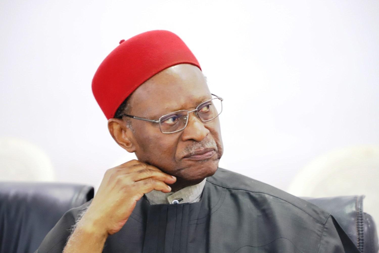 Stop living in denial over insecurity – Emeka Anyaoku tells Buhari