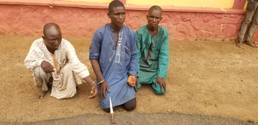 Police arrest three herdsmen for killing farmer in Ogun State