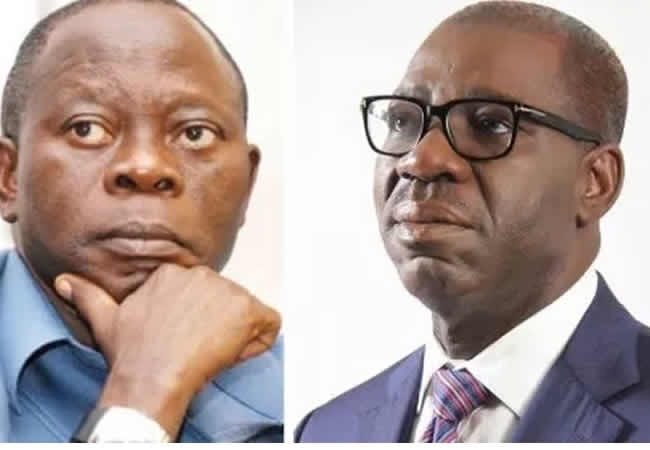 Oshiomhole got NDDC board approved without Buhari's knowledge – Obaseki reveals
